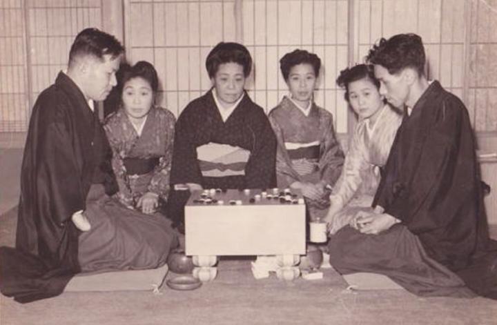 昭和二十六年、橋本昭宇、坂田栄男の対局