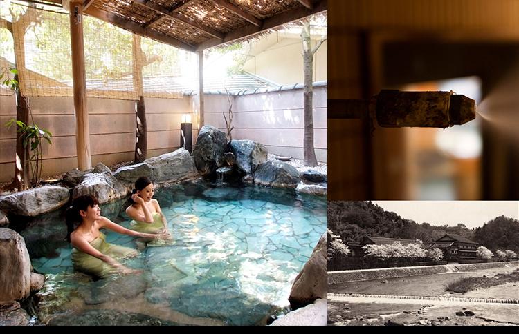 世界有数のラジウム温泉