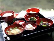 三徳山名物料理