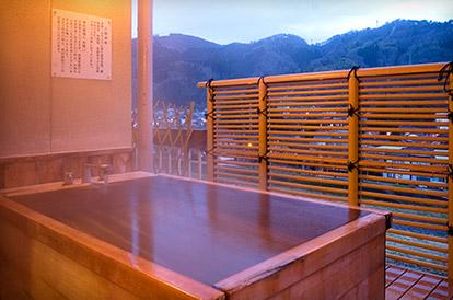 東山閣 露天風呂付客室