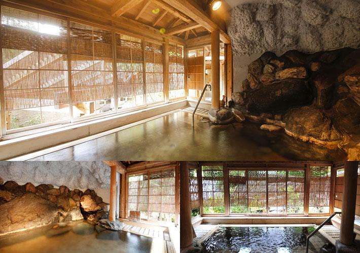 投入堂洞窟風呂