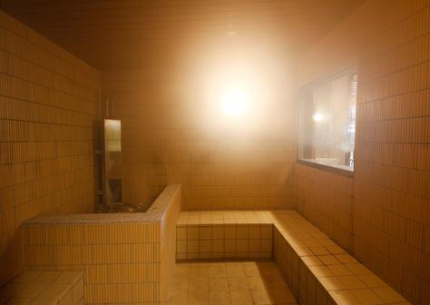 「ラジウム蒸気風呂」(ミストサウナ)2F