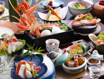 焼き蟹、蟹しゃぶ、ボイル蟹など蟹料理全5品!
