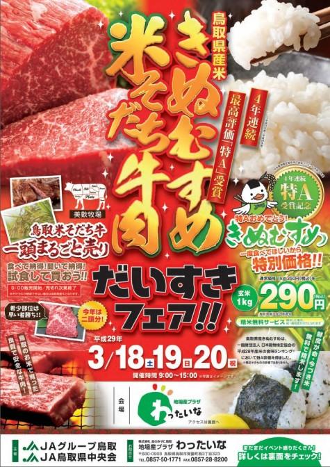 きぬむすめ+米育ち牛肉