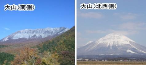 大山見比べ